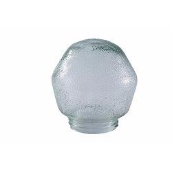 Klosz do oprawy oświetleniowej porcelanowej, kryształ 100W