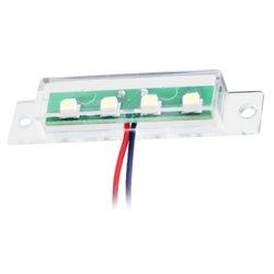 Punkt oświetleniowy ORJUNIS, zielony, ob.prosta