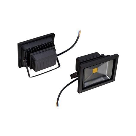 naświetlacz Powe LED moc20W,długość kabla30cm,strumień świetlny 2000lm biały ciepły