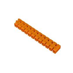 Listwa zaciskowa 12 torowa PS-16mm2, pomarańczowa, opakowanie 10 szt.