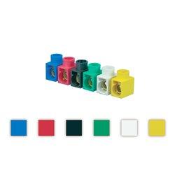 Listwa zaciskowa 2,5mm2, opakowanie 5szt., różne kolory