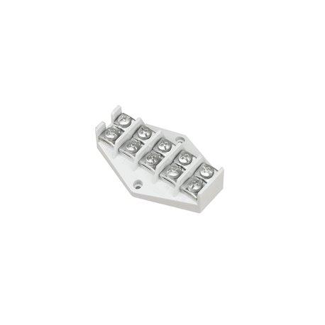 Listwa zaciskowa LZ 5x10mm2, biała, opakowanie 30 szt.