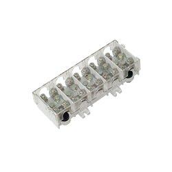 Listwa zaciskowa LG 5x25/16 termoplastyczna z osłoną