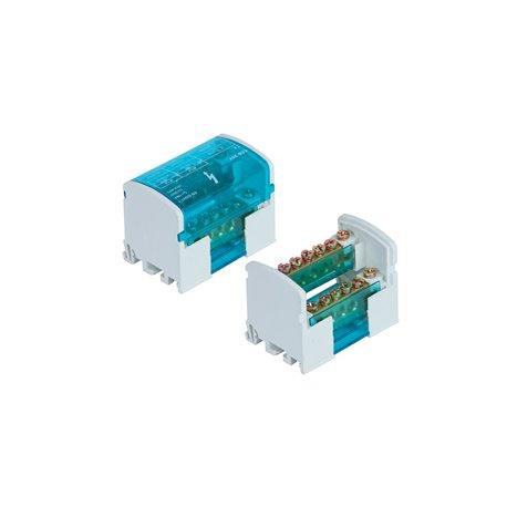 Listwa łączeniowa 2x7 zacisków, 100A/500V, blok