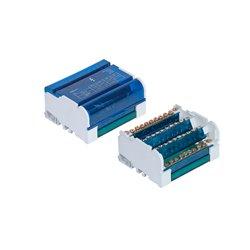 Listwa łączeniowa 4x11 zacisków, 125A/500V, blok