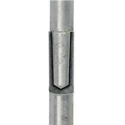 Uziom składany bezgwintowy (iglica) 3m - złacze krzyzowe+ 2x przedłuzka+ pobijak